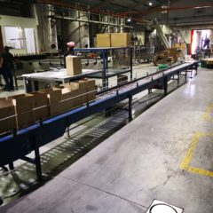 B10 BOT LINE CONVEYERS WITH CONTROL SYSTEMS