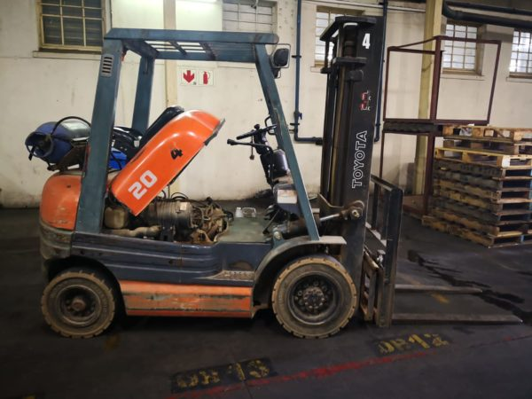 B36 TOYOTA FORKLIFT GAS