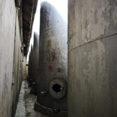 K55 TANK STEEL OUTSIDE 145 000 LITRE