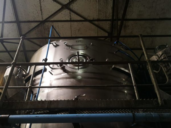 K64 TANK STANLESS STEEL BOTTOM CELLAR 15 000 LITRES