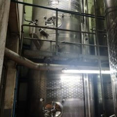 K69 TANK STAINLESS STEEL TOP CELLAR 7 500 LITRES