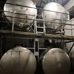 K78 TANK STAINLESS STEEL BOTTOM CELLAR 3000 LITRE
